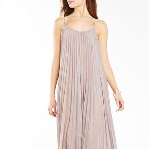 Isadona BCBG maxi pleated dress